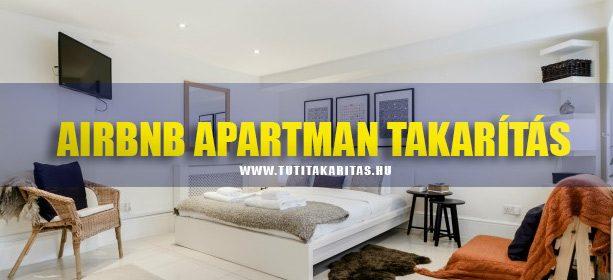Airbnb apartman takarítás